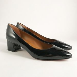 Aquatalia NEVER WORN Black Patent Leather Pump